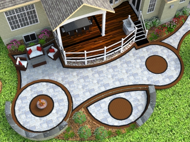 BENT PALM 3-D Concept